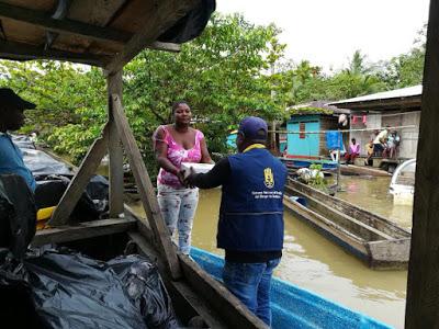 Gobernación Apoya A Damnificados Por De Lluvias En Chocó
