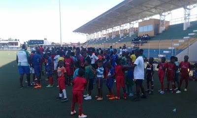 Club Barcelona Participa En Entrenamiento Y Capacitación De Fútbol En Quibdó - Chocó Somos Pacifico