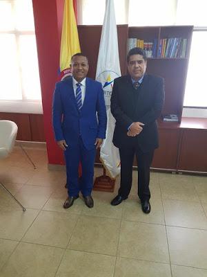 Abogado Luís Enrique Abadía García Nuevo Auditor General