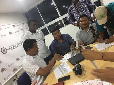 Gobiernos Nacional Y Departamental Logran Acuerdos Con Autoridades Indígenas Frente A La Contratación Del Servicio Educativo Noticias Quibdó Chocó Somos Pacifico