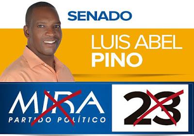 Luis Abel Pino Candidato Al Senado Por MIRA