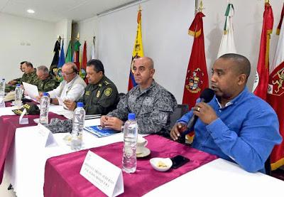 MinDefensa Presidió Consejo De Seguridad En El Chocó