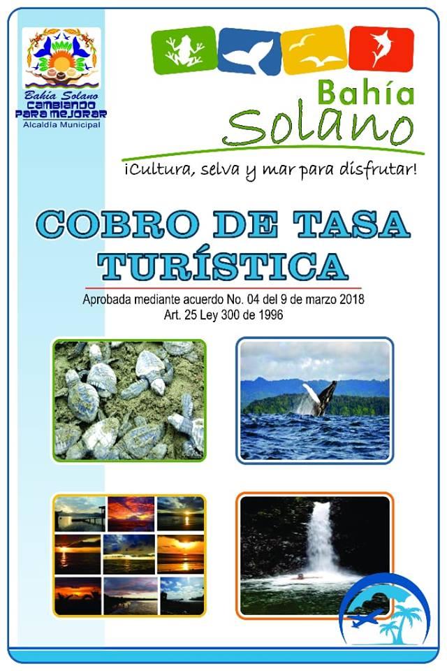 Chocó : Se Reglamenta Tasa Turística En Bahía Solano