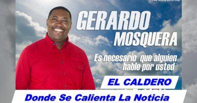 Gerardo Mosquera Murillo Periodista Condoto - Chocó