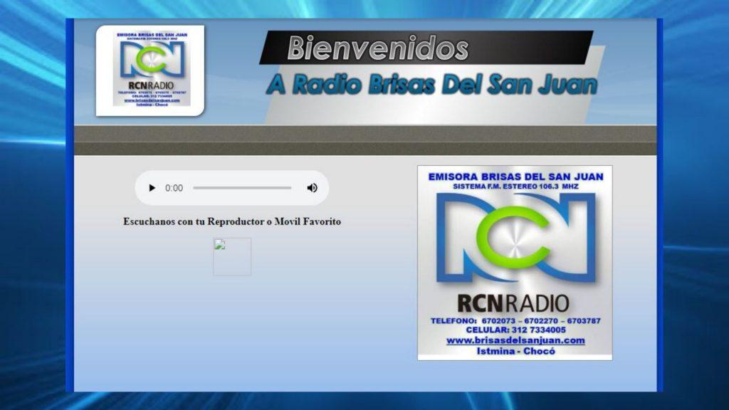 Brisas Del San Juan Stereo Istmina En Vivo Página Web